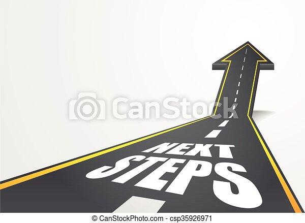 road Next Steps - csp35926971