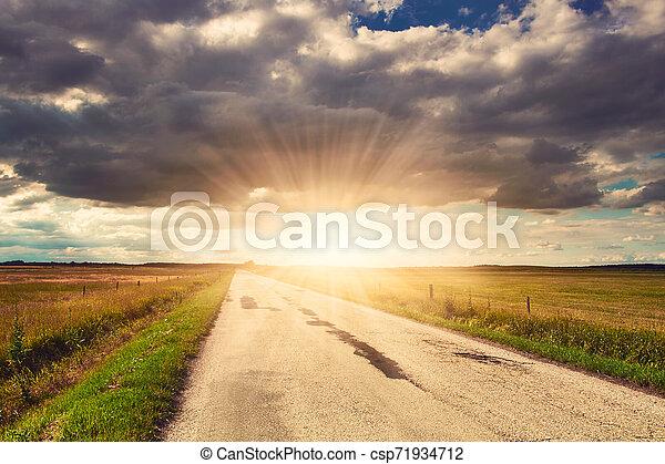 Road - csp71934712