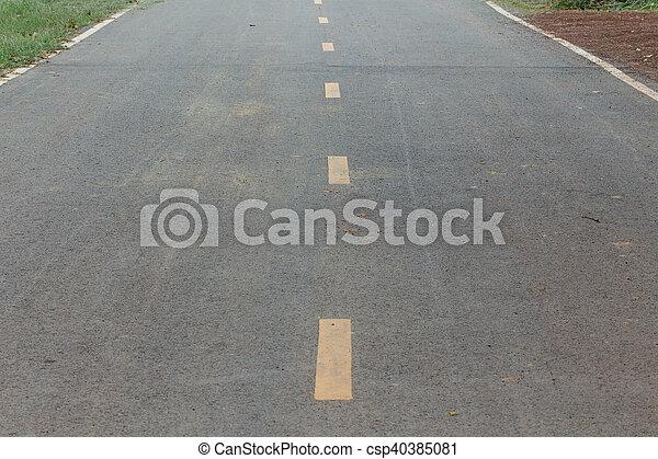 Road - csp40385081