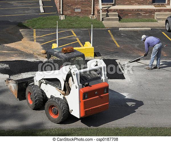Road Repair 2 - csp0187708