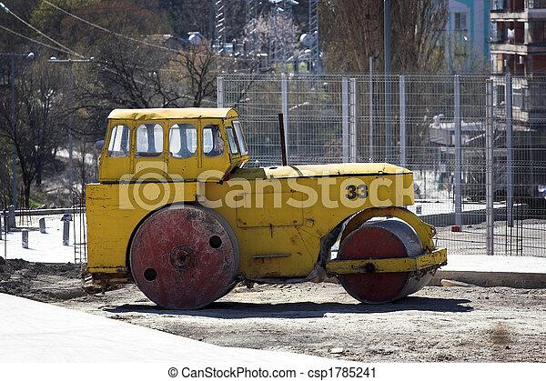 Road roller - csp1785241