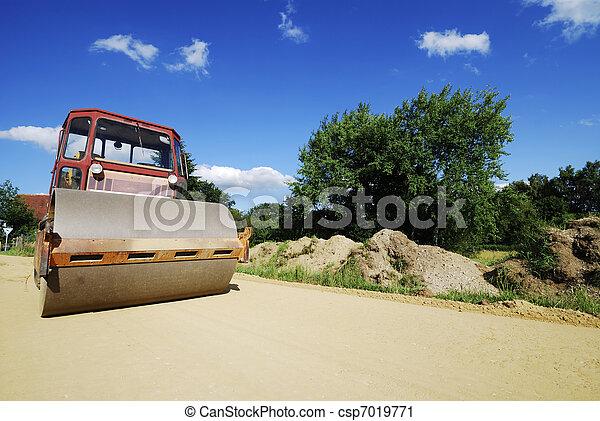 Road roller - csp7019771