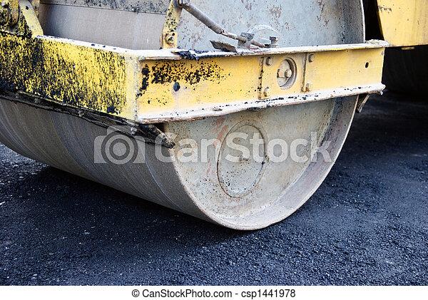 road roller - csp1441978