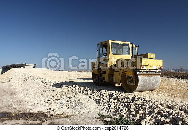 Road roller - csp20147261