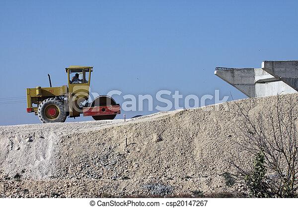 Road roller - csp20147267