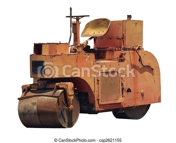 Road roller - csp2621155