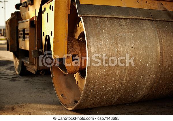 Road roller - csp7148695