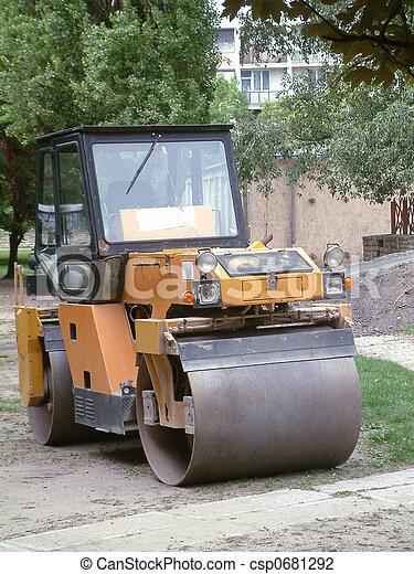Road roller - csp0681292