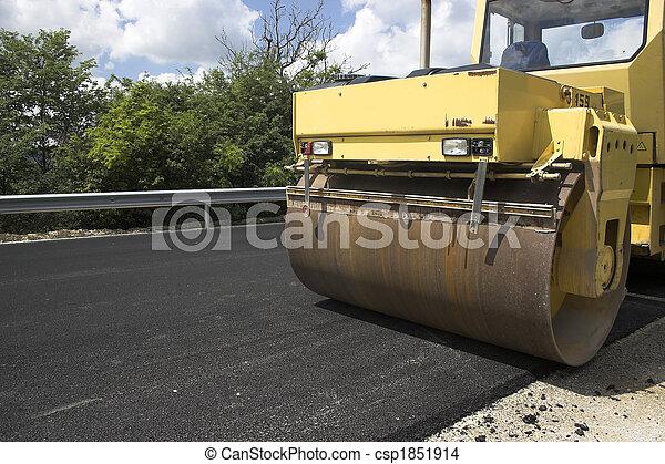 Road roller - csp1851914