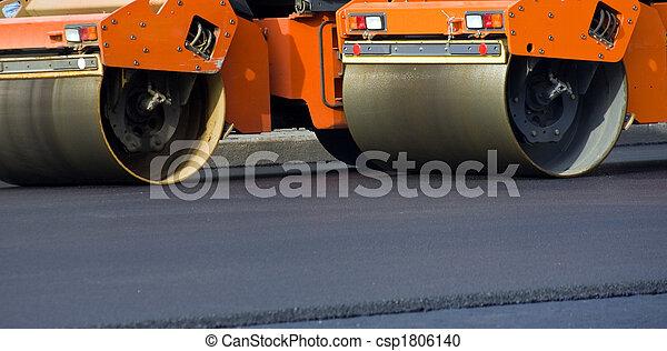 Road roller - csp1806140