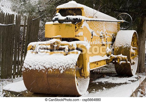 road roller - csp5664880