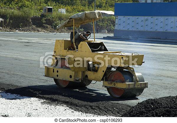 road-roller - csp0106293