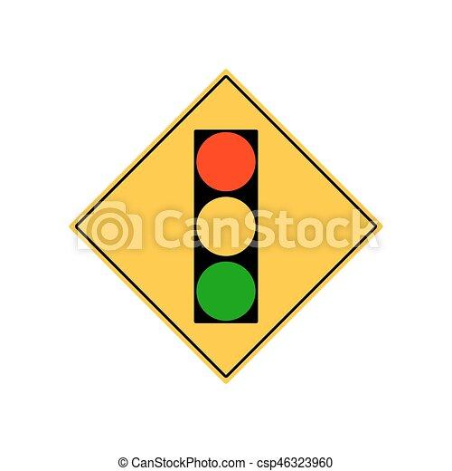 road sign city traffic light ahead vector clip art vector search rh canstockphoto com light vector png light vectorworks