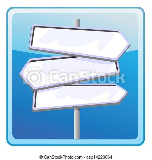 Road sign  - csp14220064