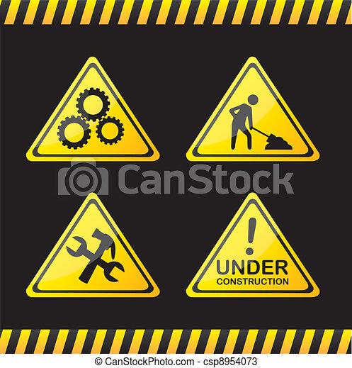 road sign - csp8954073