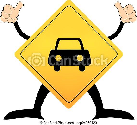 road sign - csp24389123