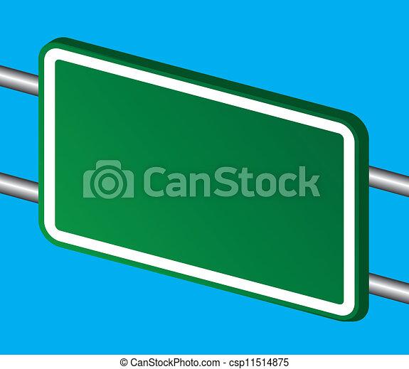 road sign - csp11514875