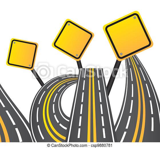 road sign - csp9880781