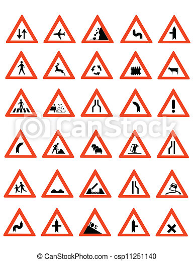 Road Signs  - csp11251140