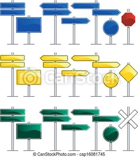 Road Signs - csp16081745