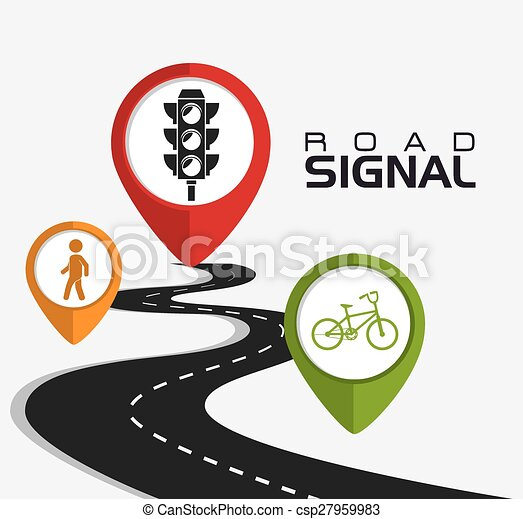 Road signs. - csp27959983