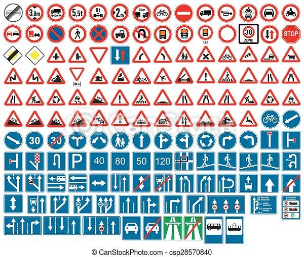 road signs - csp28570840