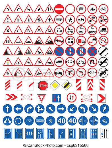 Road signs - csp6315568