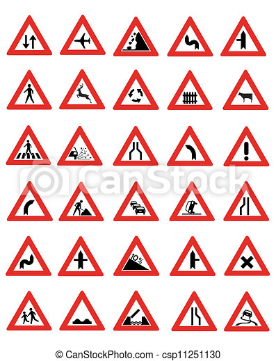 Road Signs  - csp11251130