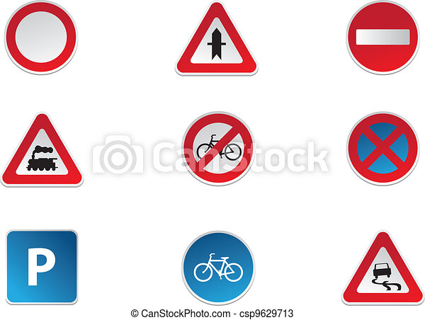 Road Signs - csp9629713