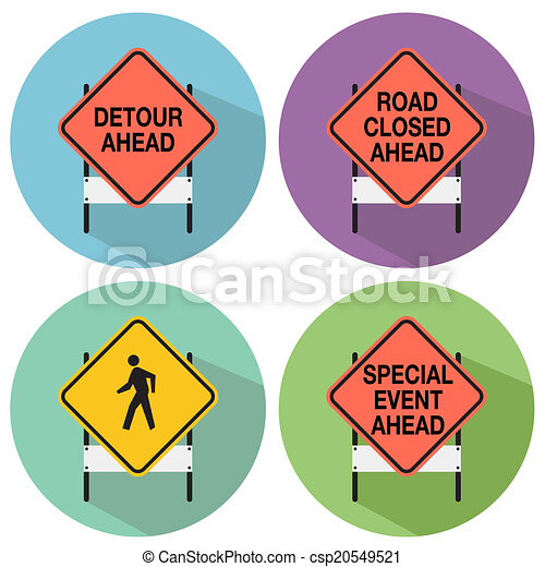 Road Signs - csp20549521