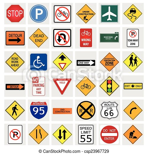 Road Signs - csp23967729