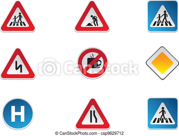 Road Signs - csp9629712