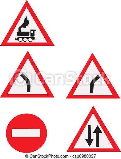 Road signs - csp6980037