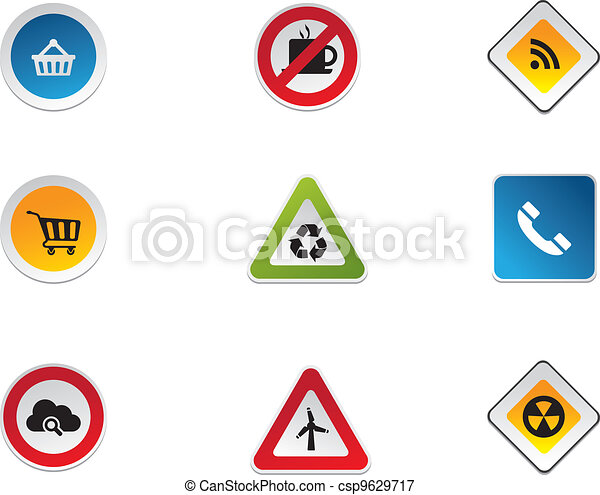 Road Signs - csp9629717