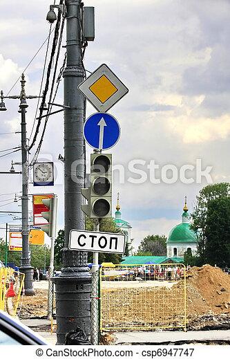 road signs - csp6947747