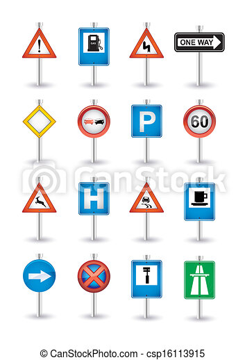 road signs - csp16113915