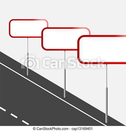 Road signs - csp13169401