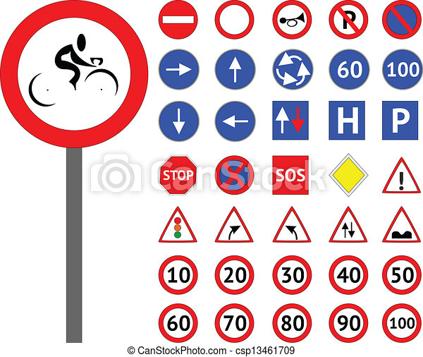 Road signs  - csp13461709