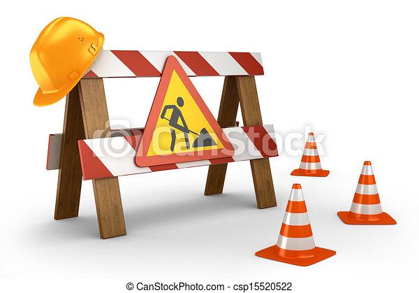 road stop barrier concept