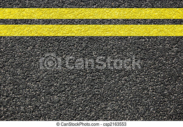road texture with lines - csp2163553