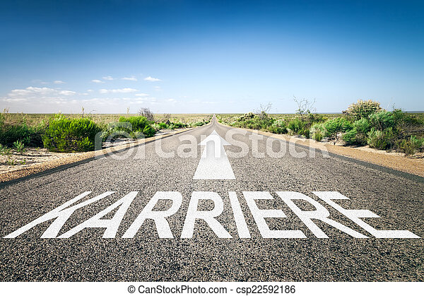 road to horizon - csp22592186