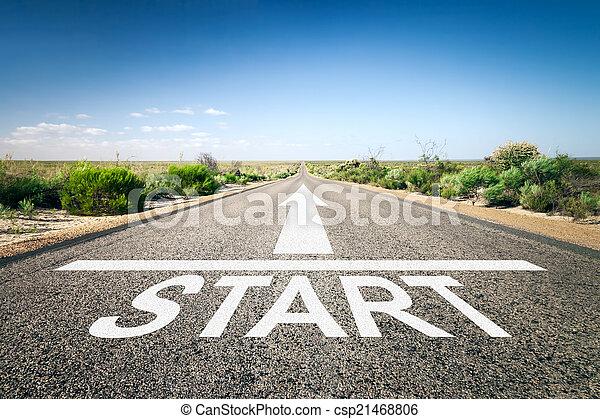 road to horizon - csp21468806