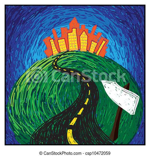 road to success - csp10472059