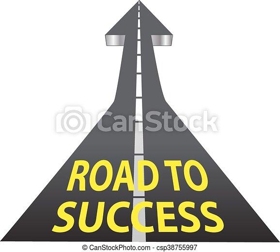 Road to Success - csp38755997