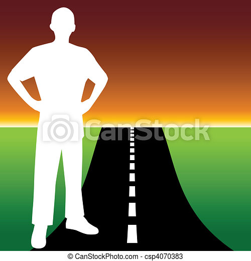 Road to Success - csp4070383