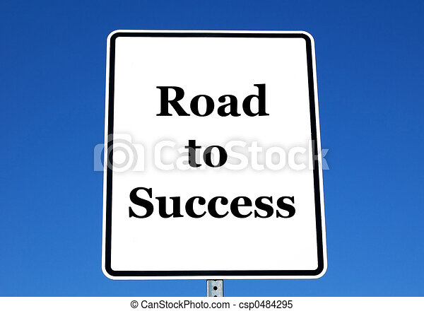 Road to Success - csp0484295