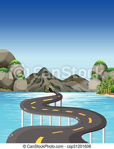 Road to the mountain - csp31201606