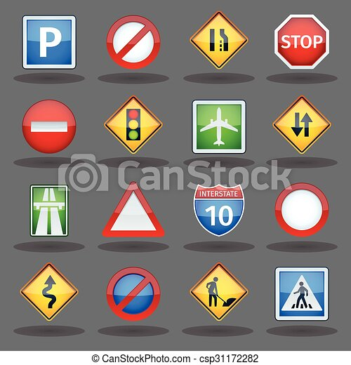 Signs road traffic Road signs