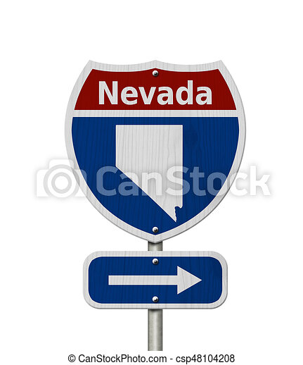 Road trip to Nevada - csp48104208