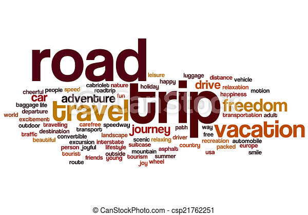 road trip word cloud illustrations and stock art 403 road trip word